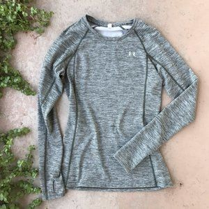 Under Armour Coldgear Fitted Crew Sweatshirt XS